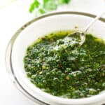Chimichurri Sauce (video)