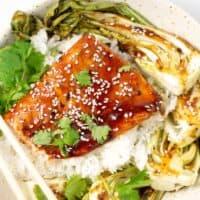 Sheet Pan Asian Salmon