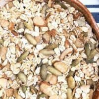 Gluten Free Muesli w/ Almonds, Pumpkin Seeds, & Chai Spices