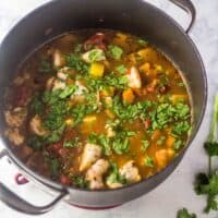 Healthy Mexican Seafood Soup