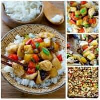 Sheet Pan Stir-Fried Chicken Teriyaki