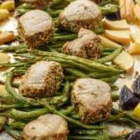Roasted Pork Tenderloin with Vegetables {Easy Sheet Pan Dinner Recipe}