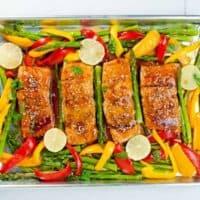 Thai Chili Sheet Pan Salmon