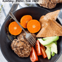 Healthy Homemade Turkey Breakfast Sausage (Paleo)