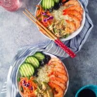 Low Carb Sushi Bowl Recipe & 12 Sushi Recipes for a Sushi Party