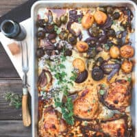 Sheet Pan Balsamic Chicken with Vegetables