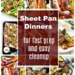 Over 45 Sheet Pan Dinners for Fast Prep and Easy Cleanup