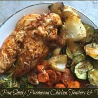 Sheet Pan Smoky Parmesan Chicken Tenders & Veggies
