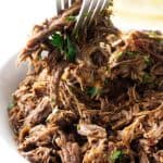 Instant Pot Shredded Beef (video)