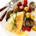 Baked Arctic Char with Vegetables