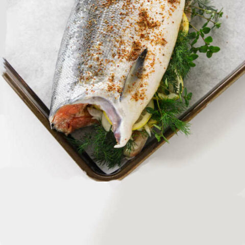 How to Bake a Whole Salmon