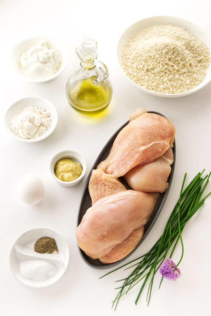Ingredients needed for Pan Fried Chicken Breast Cutlets recipe